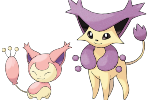 Pokemon skitty evolution