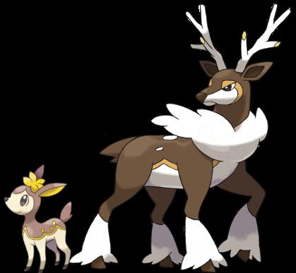 Famile Pokemon Sawsbuck Images   Pokemon Images