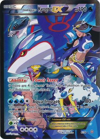 Tcg Jump Featured Card Team Aqua S Kyogre Ex Pok 233 Mon