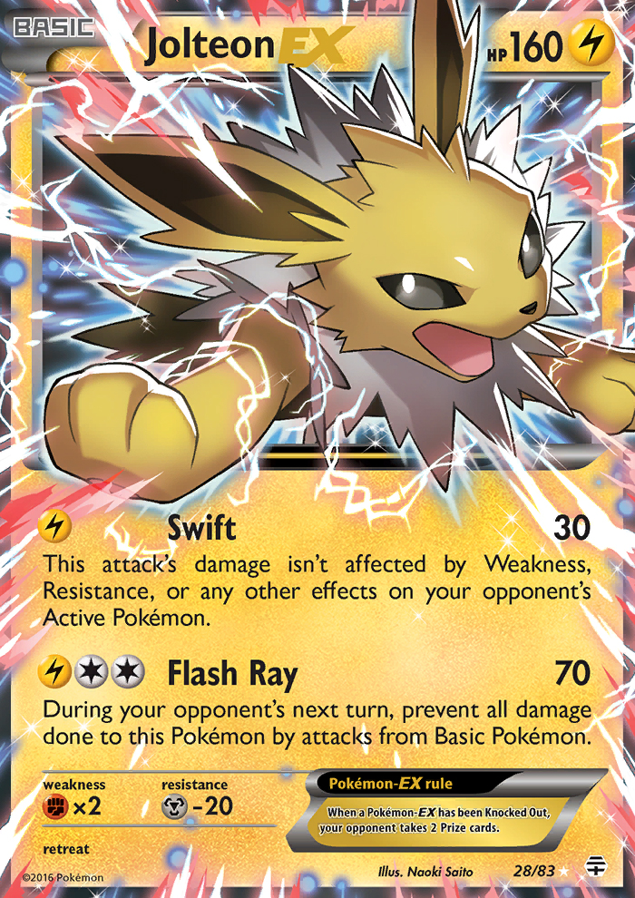 TCG Jump: Featured Card- Jolteon EX - Pokémon Crossroads
