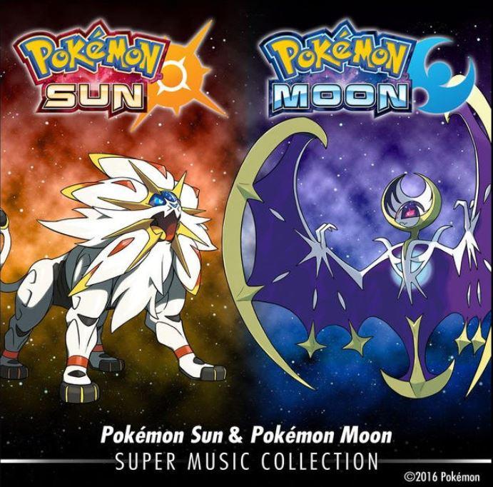 pokemon sun moon super music collection release today pokémon