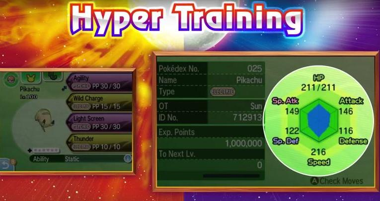 Ev Training In Sun And Moon