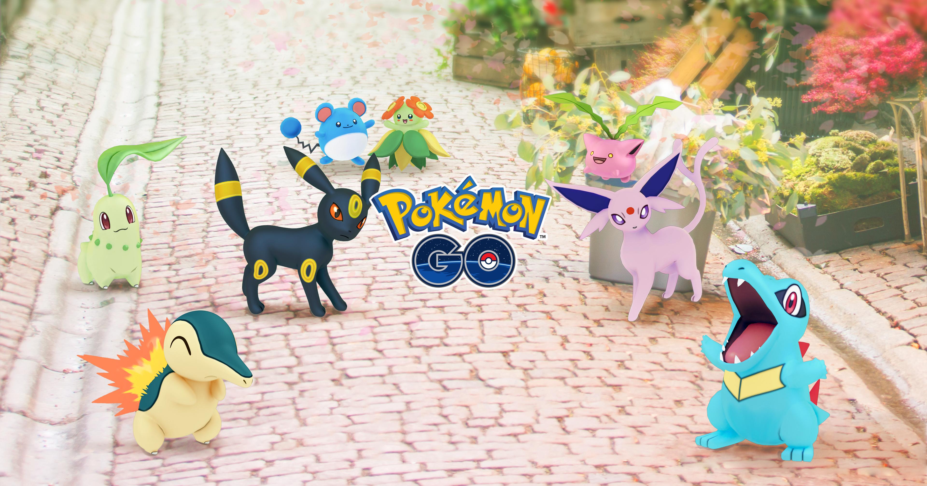 Johto Pokemon GO
