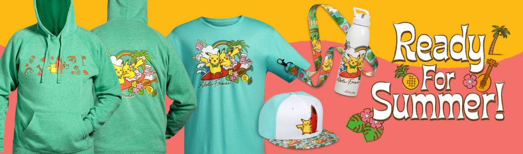 """eef5f7c4 To celebrate the arrival of summer, the Pokémon Center has brought in a new  collection called """"Alola Friends""""! Containing a total of eight ..."""
