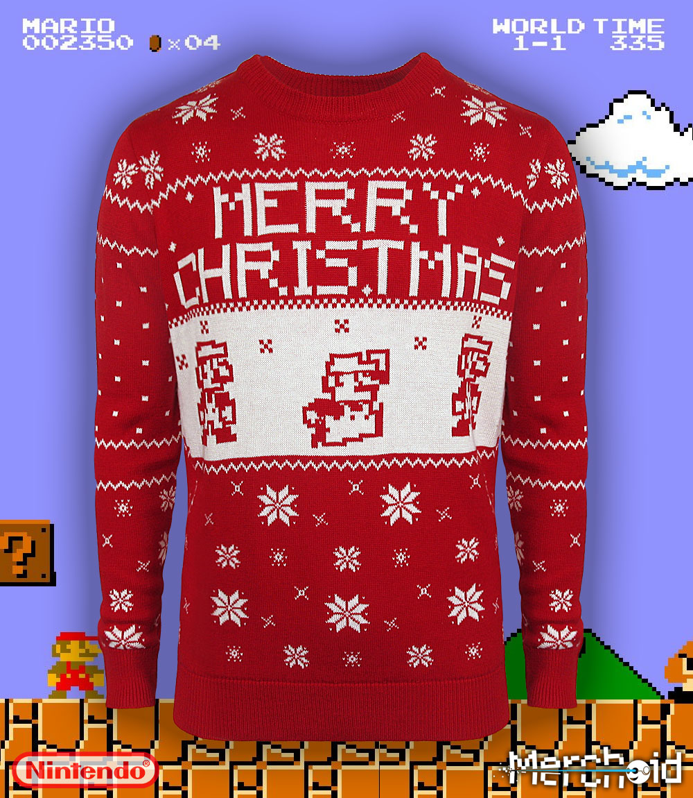 New Nintendo Themed Sweaters! - Pokémon Crossroads