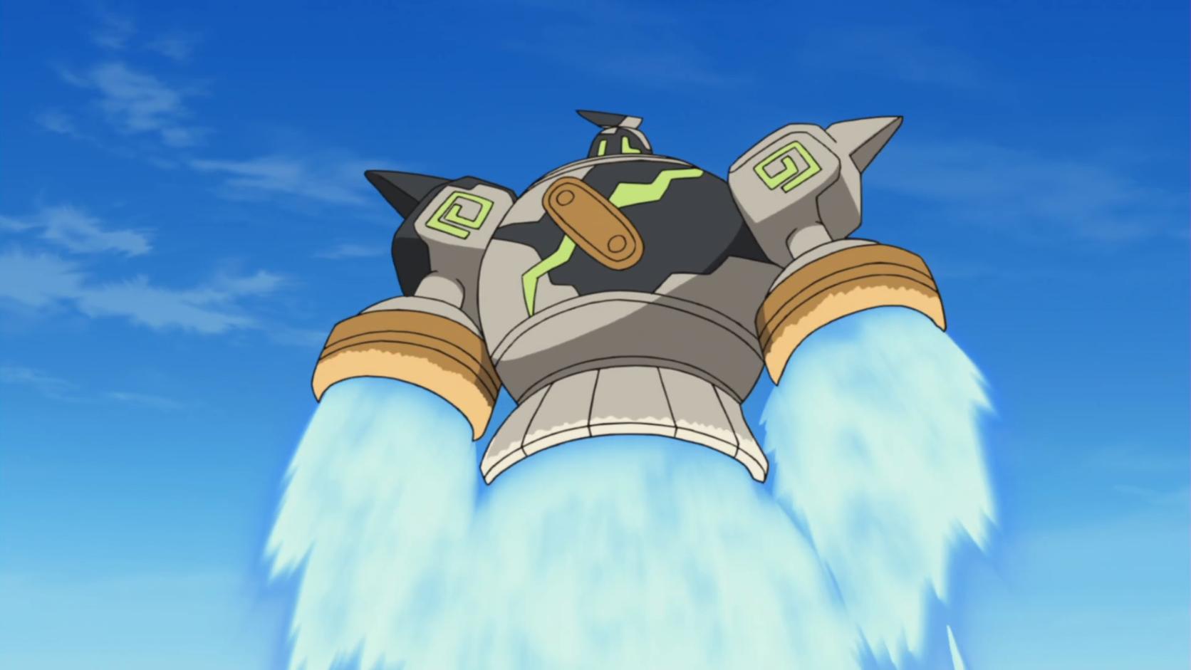 Golurk Flying