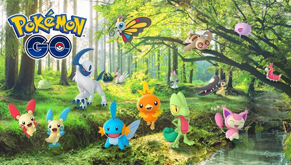 HOenn Pokemon GO