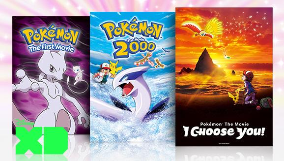Pokemon Movies Disney XD