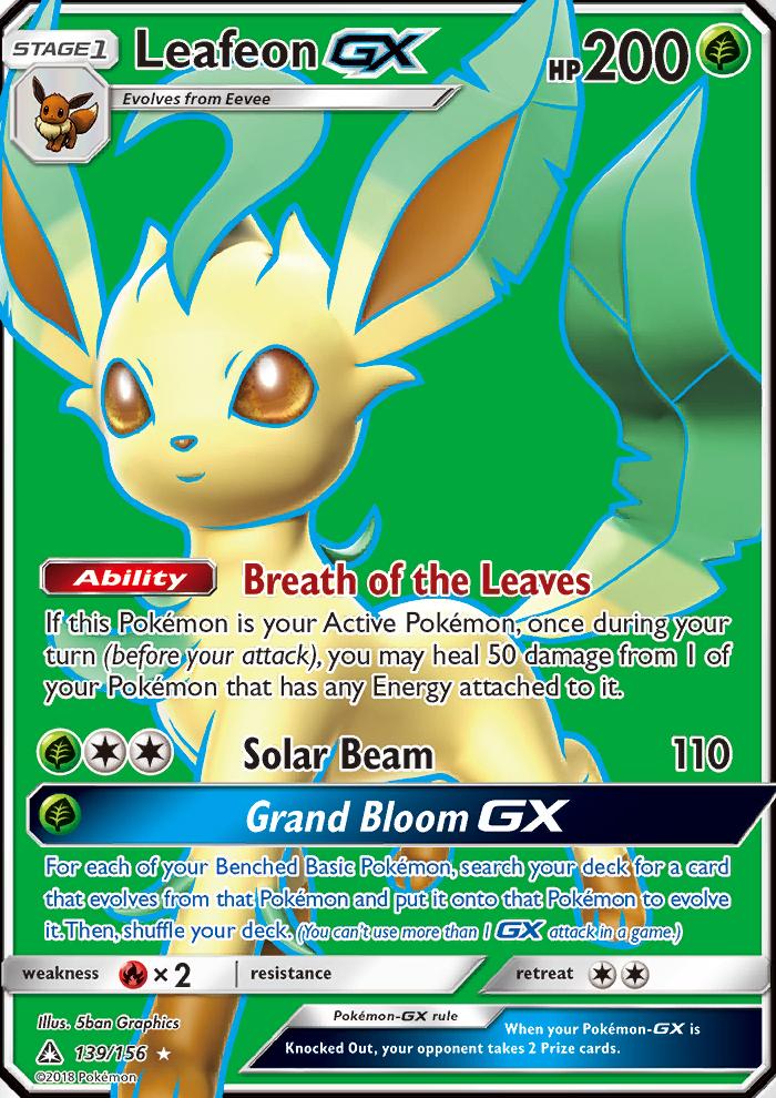 Leafeon GX