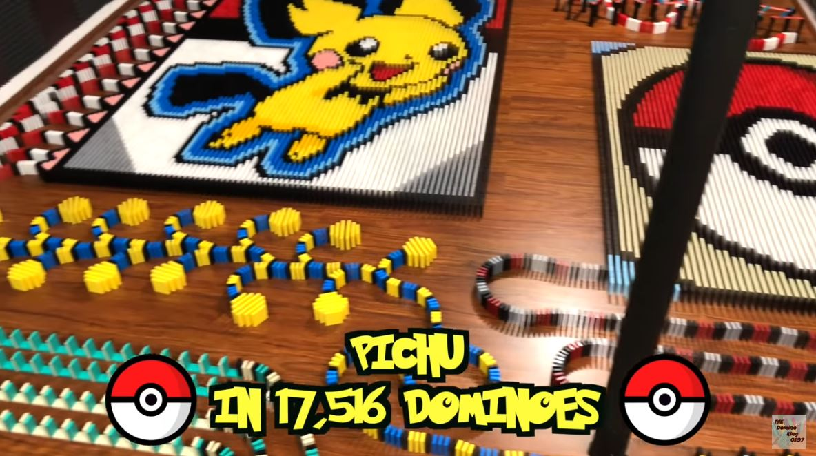 Pichu in Dominoes