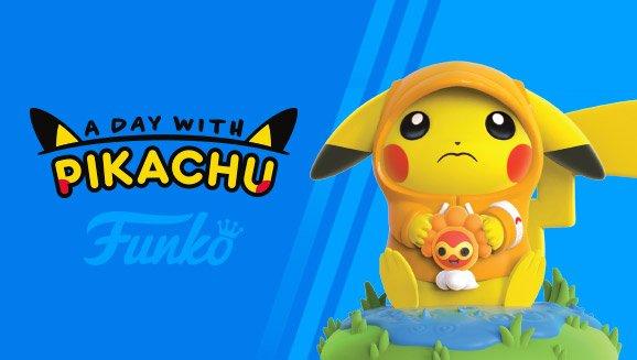 Rainy Day Pikachu