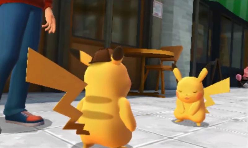 The Duo meeting Pikachu