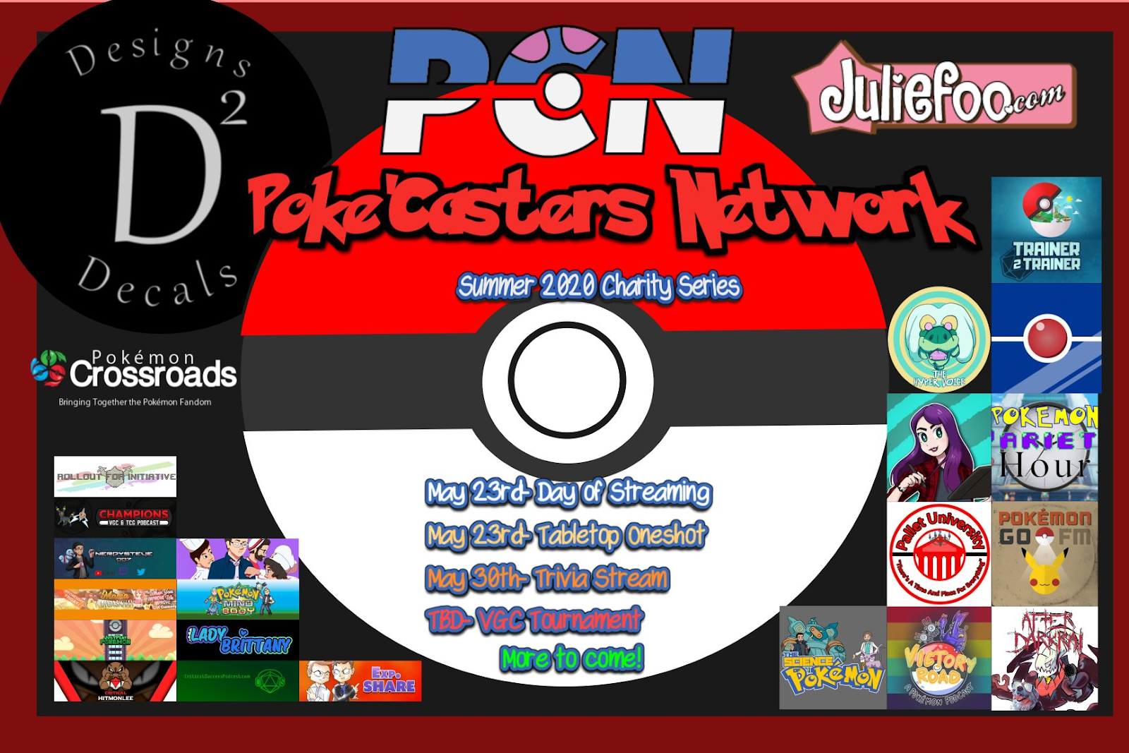 PokeCasters Network Charity