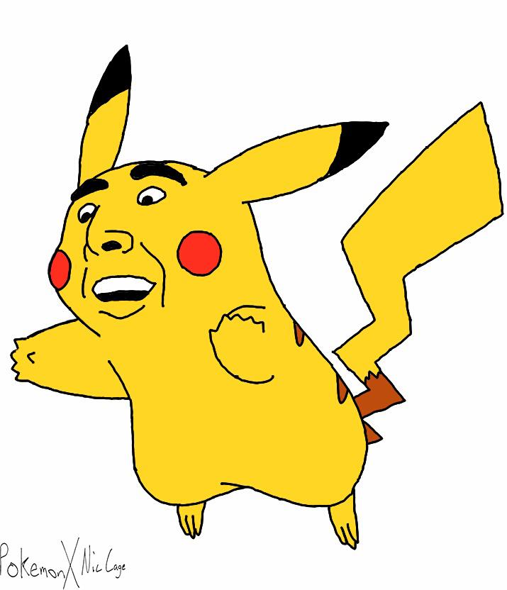 Pikachu-Nic Cage