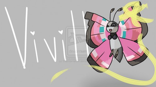 Vivillon~ by ThatInternetGirl