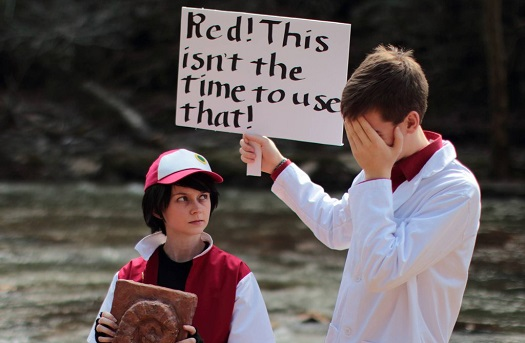 Twitch Plays Pokemon Red Cosplay 5