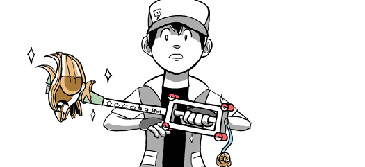 Twitch Plays Pokemon Secret Keyblade by CookuBanana