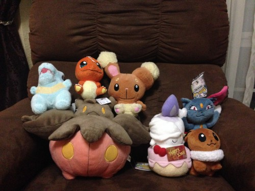 Mikey's Plushie Collection