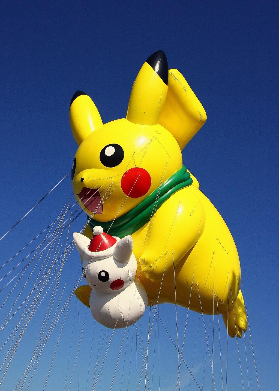 New Pikachu Float