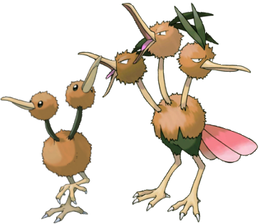 Normal - Doduo Family