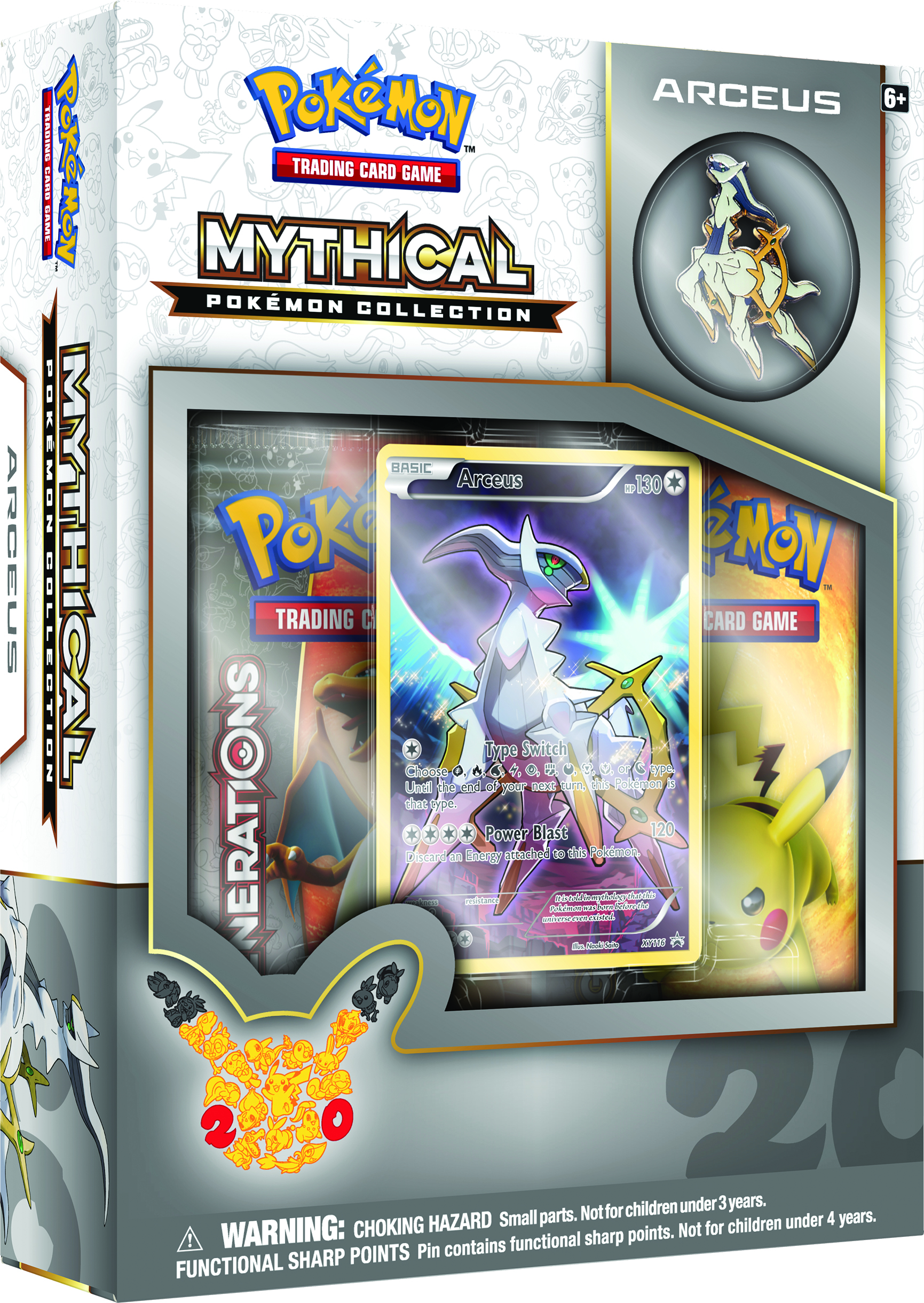 Mythical Pokemn Collection