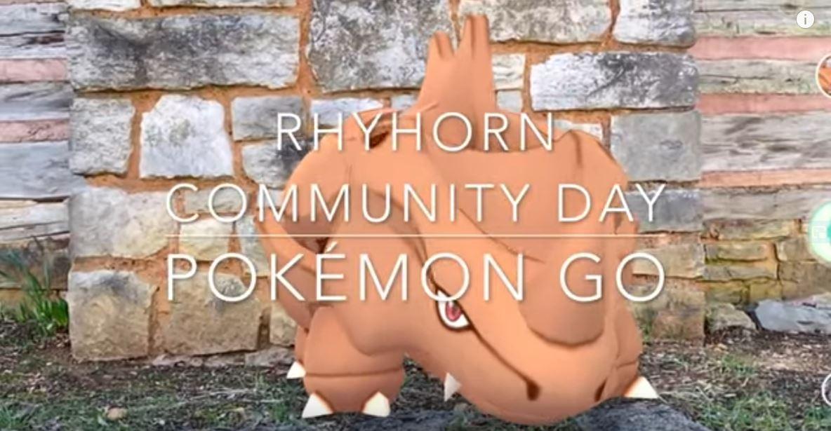 Rhyhorn Community Day