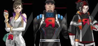 Sierra, Cliff and Arlo: Leaders of Team GO Rocket