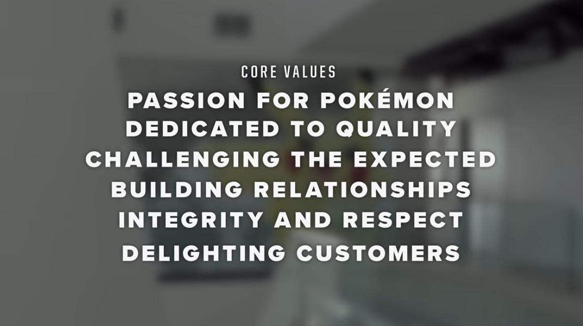 Pokemon Core Values