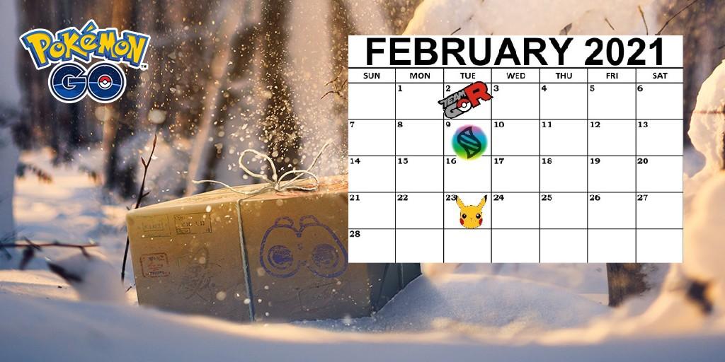 Pokemon GO, February Events