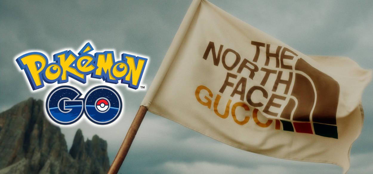 Gucci x TNF x Pokemon GO