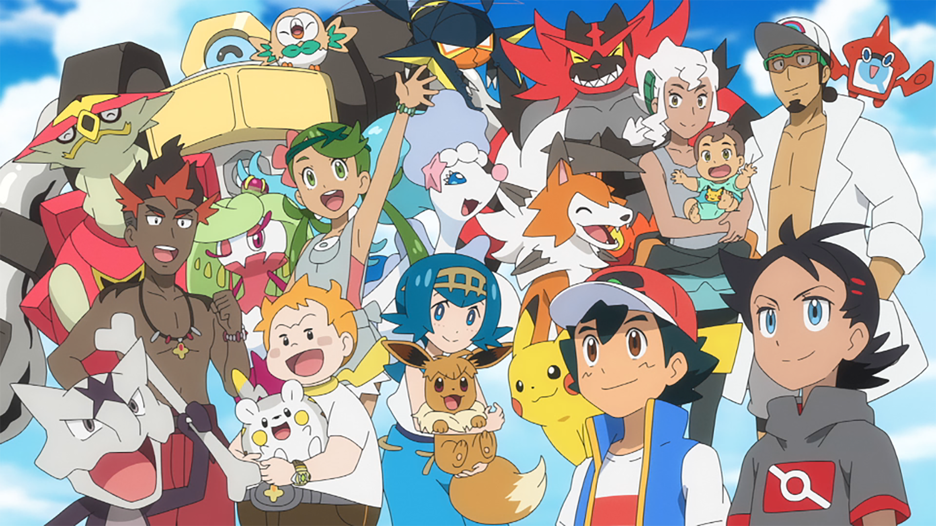 ALola Pokemon JOurneys