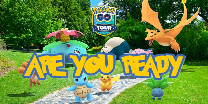 are you ready for the kanto event