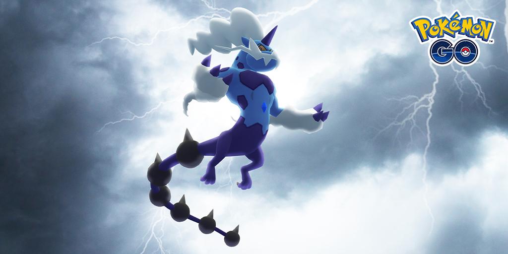 therian form thundurus in Pokemon go