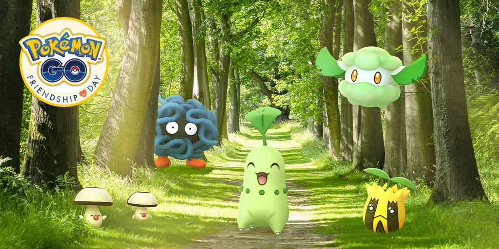 Pokémon GO Friendship Day