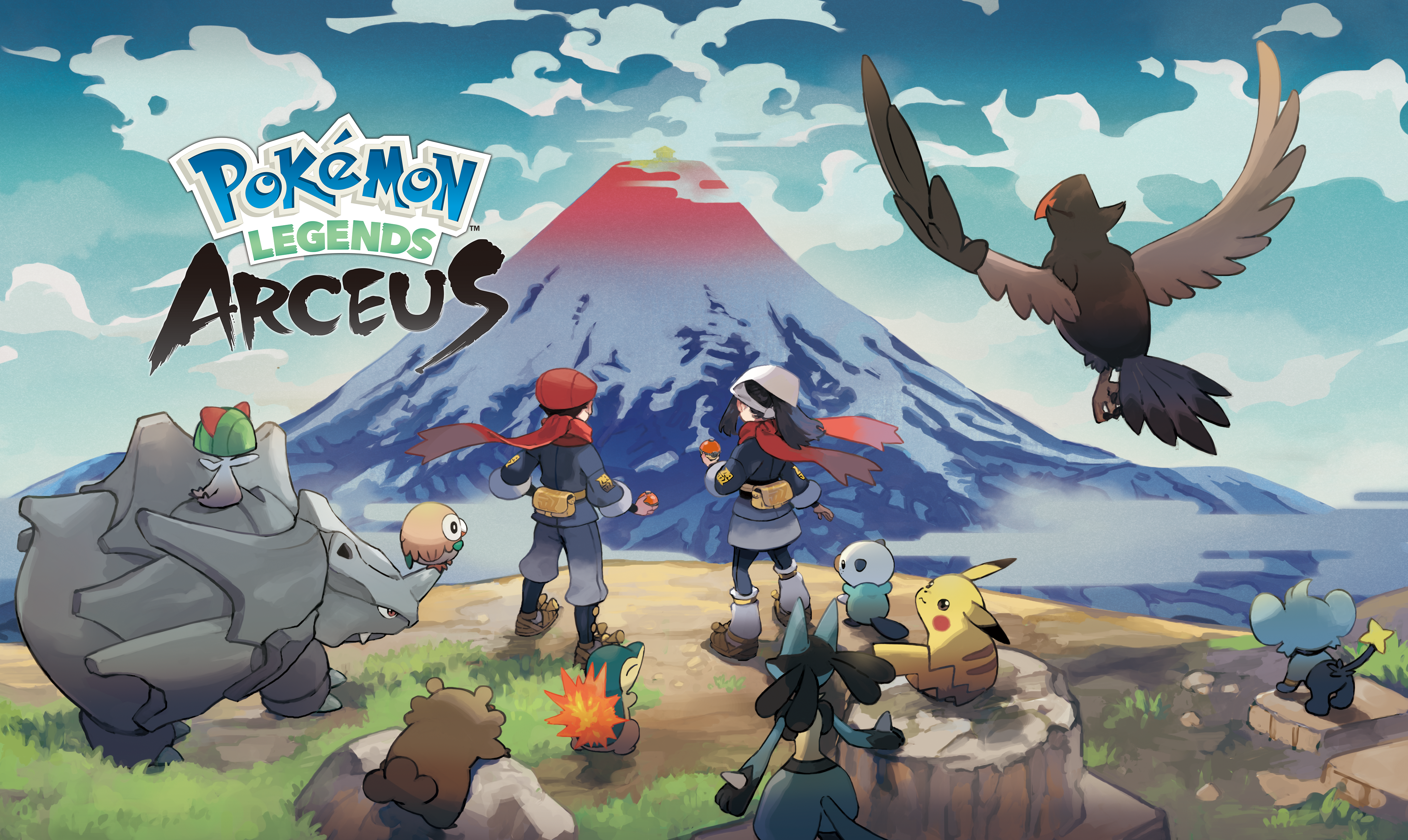 promo art for Pokemon Legends: Arceus