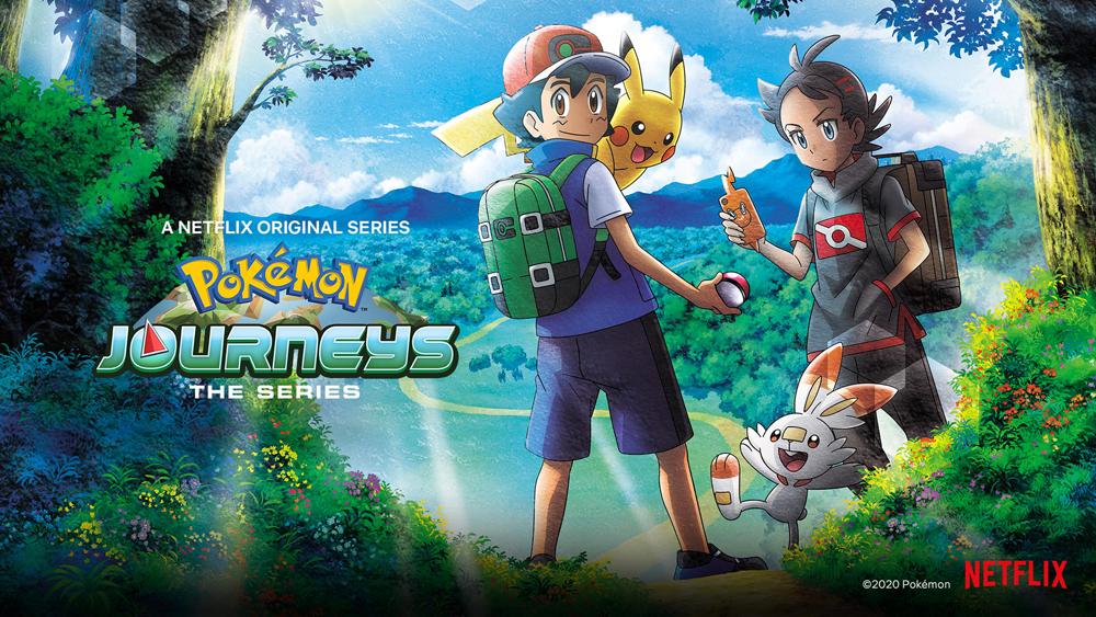 pokemon journeys on netflix canada