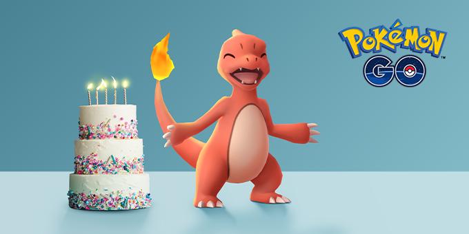 fifth anniversary of pokemon go