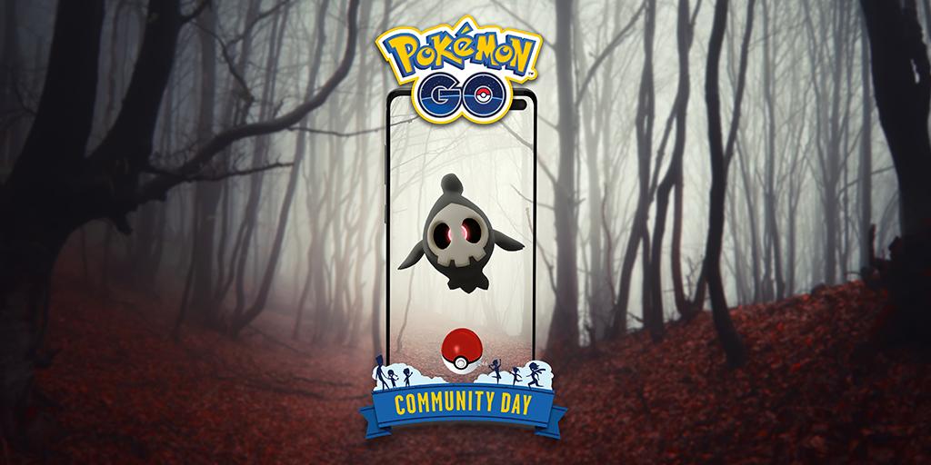 duskull is october community day