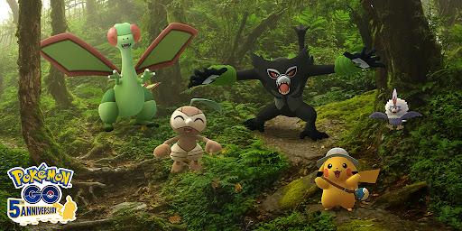 zarude makes it's debut in pokemon go